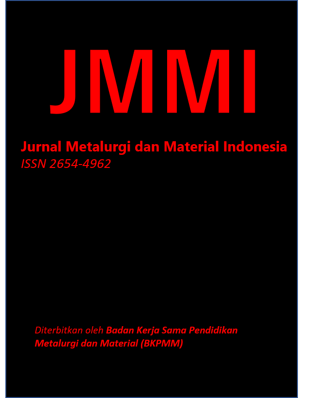 Jurnal Metalurgi dan Material Indonesia